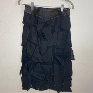 Lela Rose Women's Black Skirt Size 4